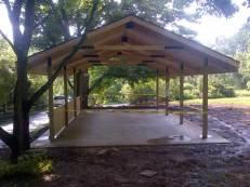 Open pavilion