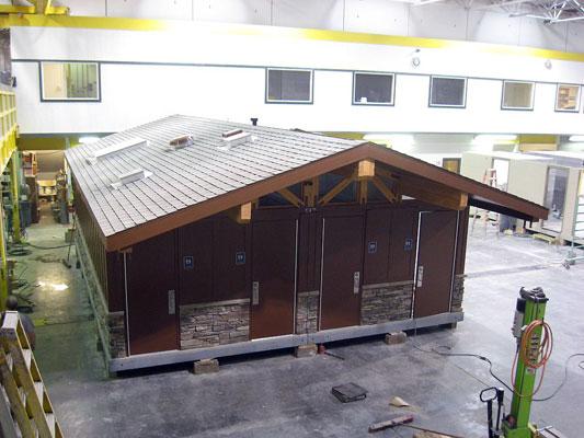 Factory built RR